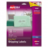 Avery 8663 Matte Clear Easy Peel Mailing Labels