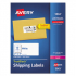 Avery 5963 Shipping Labels