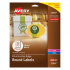 Avery 22807 Round Labels