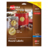 Avery 22831 Round Labels