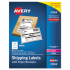 Avery 27900 Shipping Labels with Paper Receipt Bulk Pack