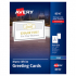 Avery 8316 Greeting Cards with Matching Envelopes
