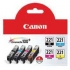 Canon CLI-221 Color Ink Tank 4 Pack (2946B004)