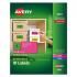 Avery 6481 High-Visibility ID Labels