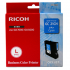 Ricoh 405537 Cyan Ink Cartridge