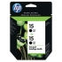HP C6653FN Black Ink Cartridge Twin Pack