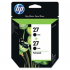 HP C9322FN Black Ink Cartridge Twin Pack