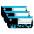 HP C9483A Cyan Ink Cartridge Multipack