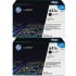 HP C9720AD Black Toner Cartridge Dual Pack