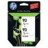 HP CC581FN Tri-Color Ink Cartridge Twin Pack