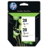 HP CD995FN Tri-Color Ink Cartridge Twin Pack
