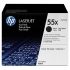 HP CE255XD Black Cartridge Dual Pack