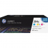 HP CF340A Toner Cartridge Tri-Pack