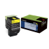 Lexmark 70C00YG Yellow Toner Cartridge for US Government