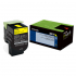 Lexmark 80C00YG Yellow Toner Cartridge for US Government