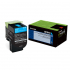 Lexmark 80C0HCG Cyan Toner Cartridge for US Government