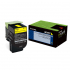 Lexmark 80C0HYG Yellow Toner Cartridge for US Government
