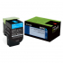Lexmark 80C0SCG Cyan Toner Cartridge for US Government