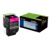 Lexmark 80C0SMG Magenta Toner Cartridge for US Government