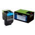 Lexmark 80C0XCG Cyan Toner Cartridge for US Government