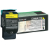 Lexmark C540A4YG Yellow Toner Cartridge for US Government