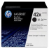 HP Q5942XD Black Toner Cartridge Dual Pack