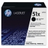 HP Q7551X Black Toner Cartridge