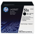 HP Q7551XD Black Toner Cartridge Dual Pack