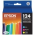 Epson T124520 Color Ink Cartridge Multi-Pack