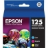 Epson T125520 Color Ink Cartridge Multi-Pack